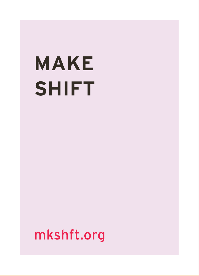 make shift creativity design resource